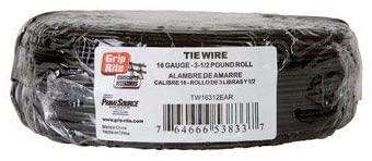 Grip Rite Tie Wire 16 Ga Carbon Steel