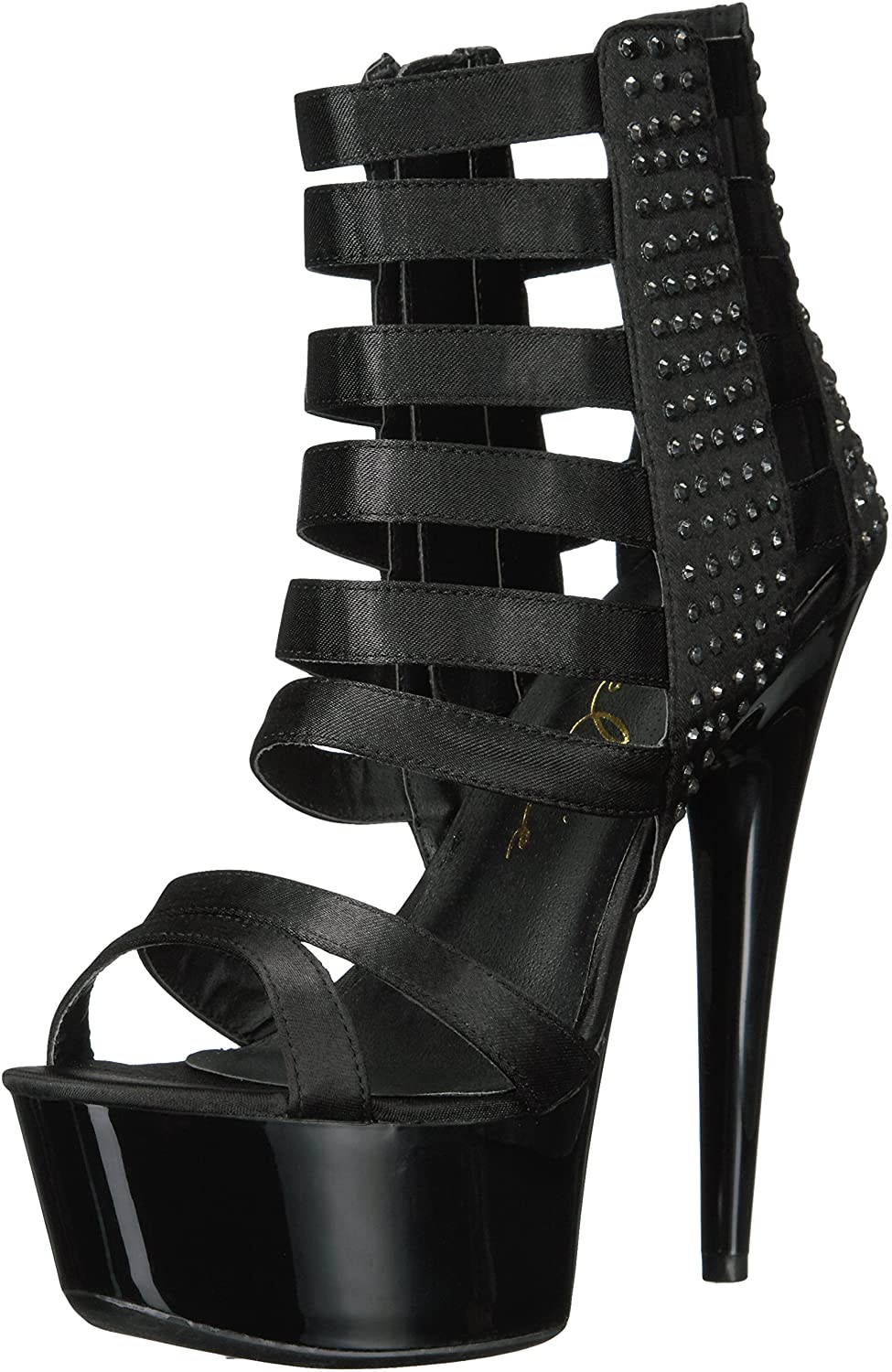 Ellie Shoes Women's 609-Noir Dress Sandal