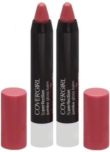 COVERGIRL Lip Perfection Jumbo Gloss Balm CUPCAKE TWIST #216 (PACK OF 2 Jumbo Gloss Balms)