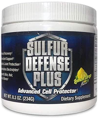 Sulfur Defense Plus (Organic Sulfur & Vitamin C) (30 Servings)