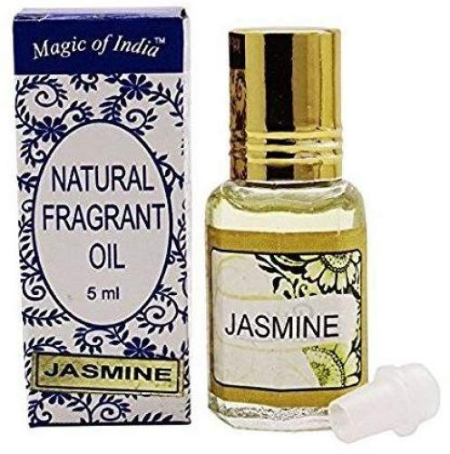 Magic Of India Natural Fragrant Oil Jasmine Fragrance 100% Pure and Natural - 5 ml