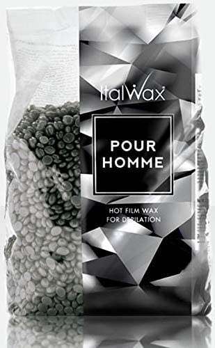 ItalWax Pour Homme - Hard Stripless Wax Beads 2.2 lbs. - 1 kg. Bag