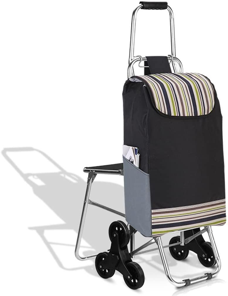 Portable Shopping cart Shopping cart Climbing Floor Folding Grocery Shopping cart Trolley Portable Trolley cart Shopping cart Collapsible Shopping cart