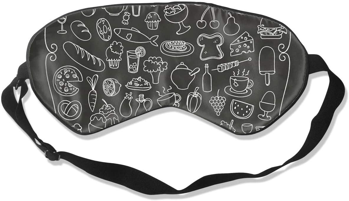 Afternoon Dessert Women Men Eye Shade Cover for Sleeping,Eye Mask for Night Sleep