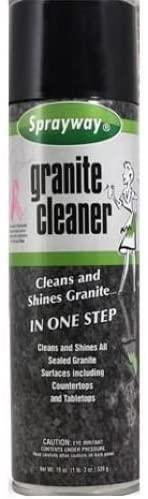 Sprayway SW702R 20 Oz Aerosol Granite & Marble Spray