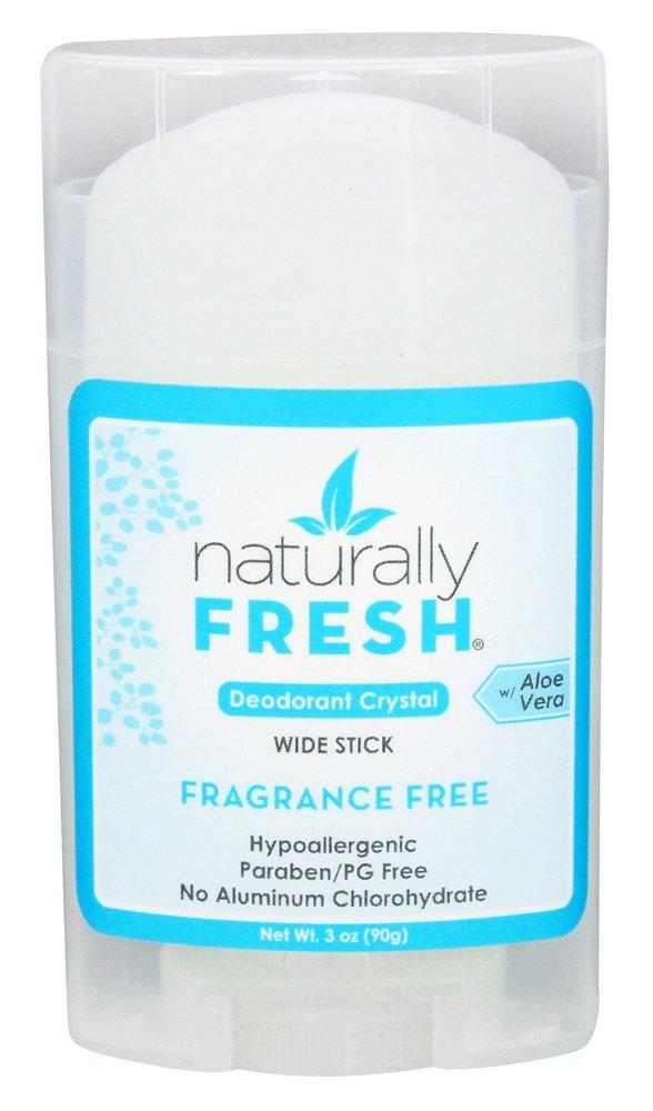 Crystal - Clear Stick (Fragrance Free) Naturally Fresh 3 oz oz Stick