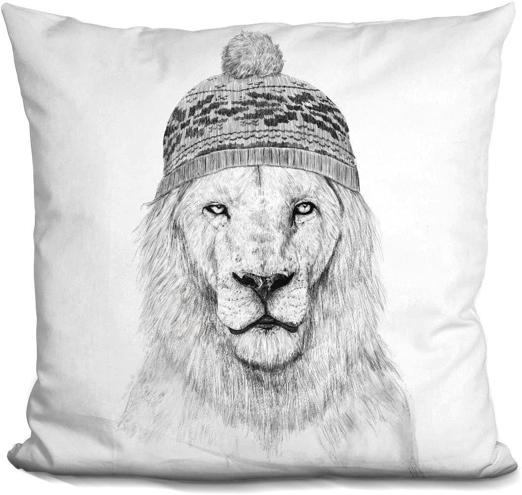 LiLiPi Winter is Coming Decorative Accent Throw Pillow