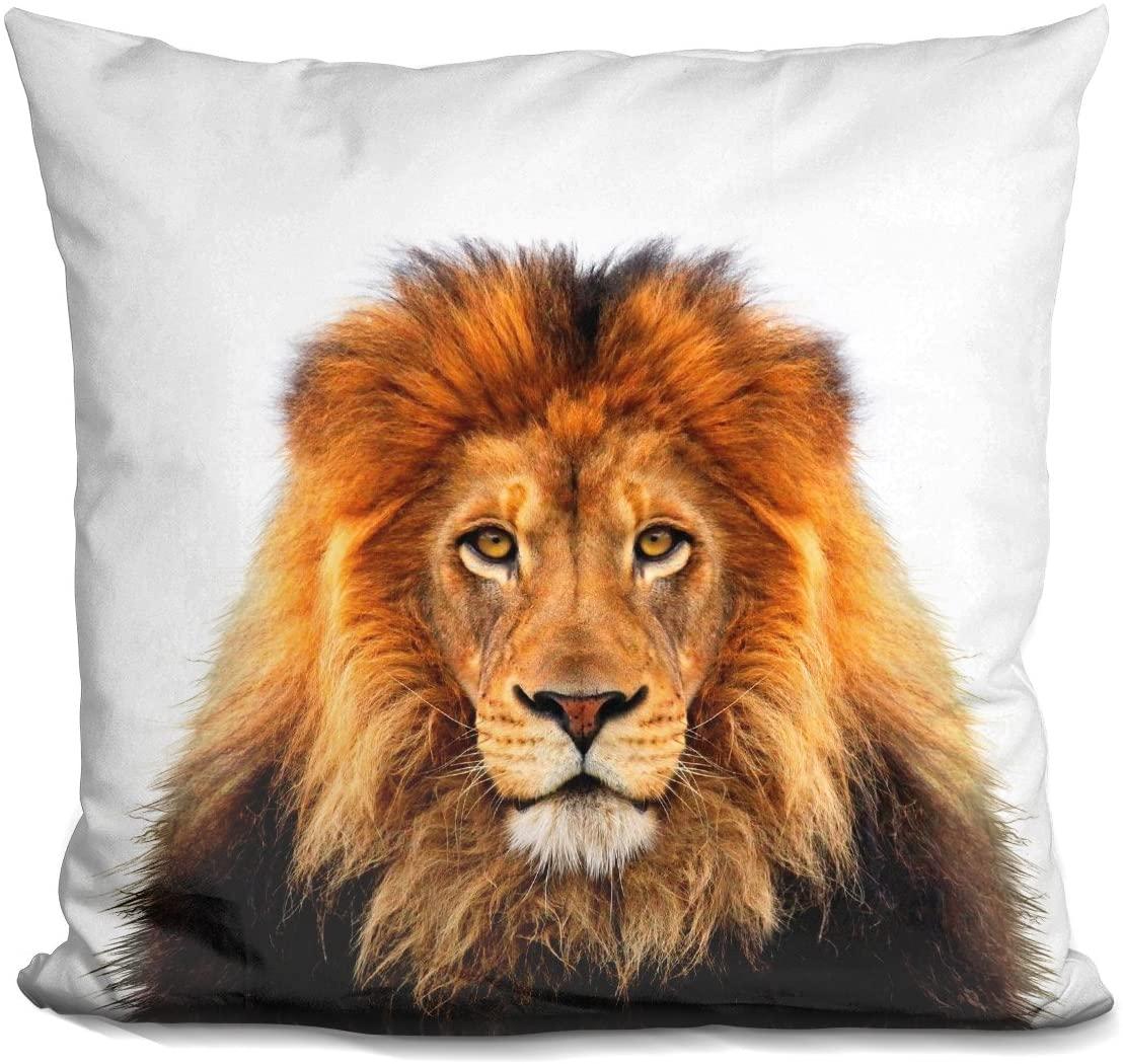 LiLiPi Lion L P Decorative Accent Throw Pillow