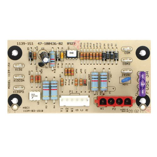 1139-151 1139-15X - OEM Upgraded Replacement for Ruud Furnace Air Handler Control Circuit Board