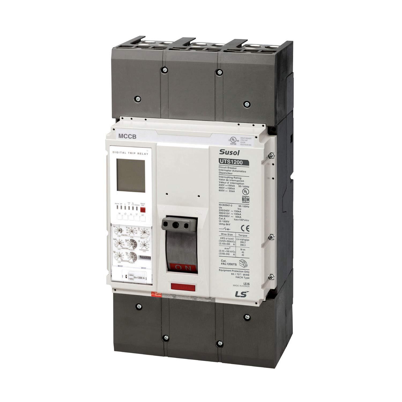 ASI UTS1200N-NGO-1200-3P-LL-UL Molded Case Circuit Breaker