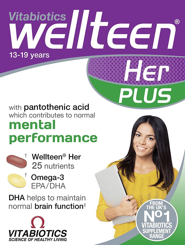 Wellteen by Vitabiotics Her Plus Tablets x 56