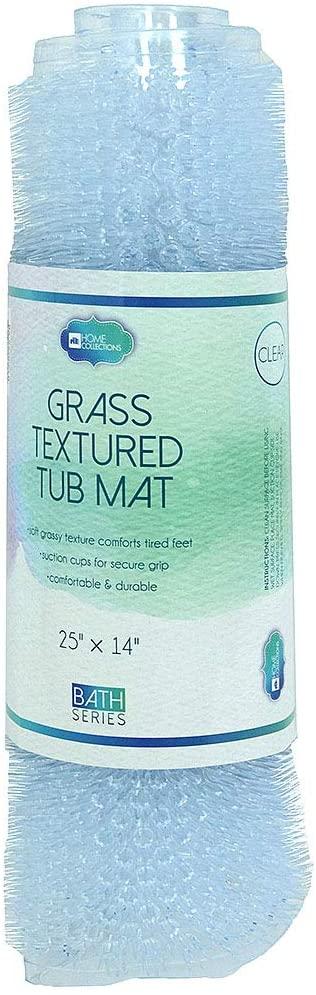 Home Expressions Textured Grass PVC Bath Tub Mat 25