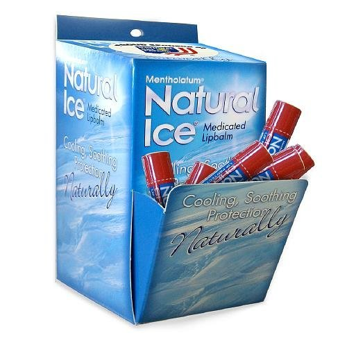 Natural Ice Medicated Lip Protectant/Sunscreen , Multi-Pack, Cherry 48 ea