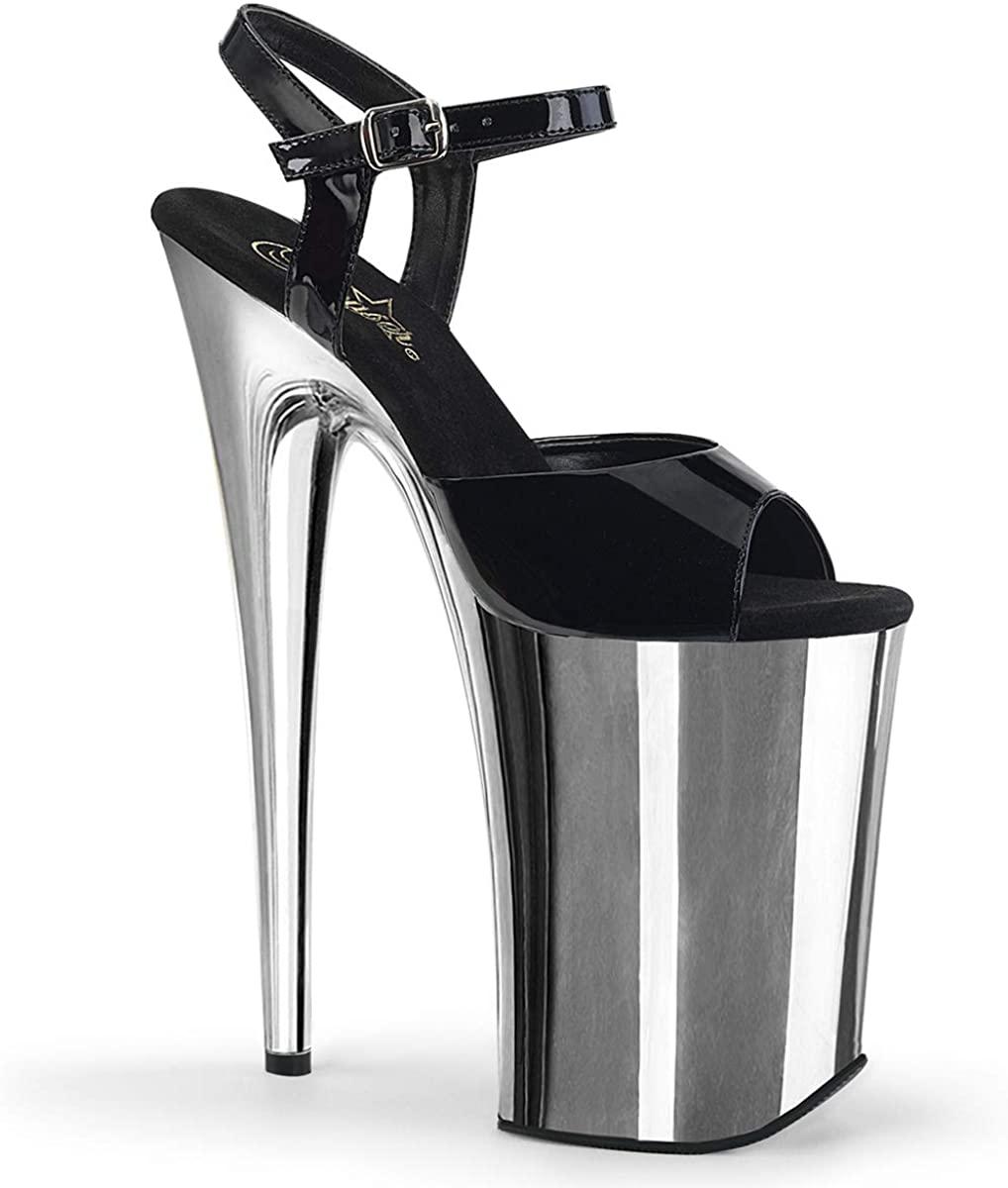 Pleaser Women's Infinity-909 Ankle-Strap Sandal