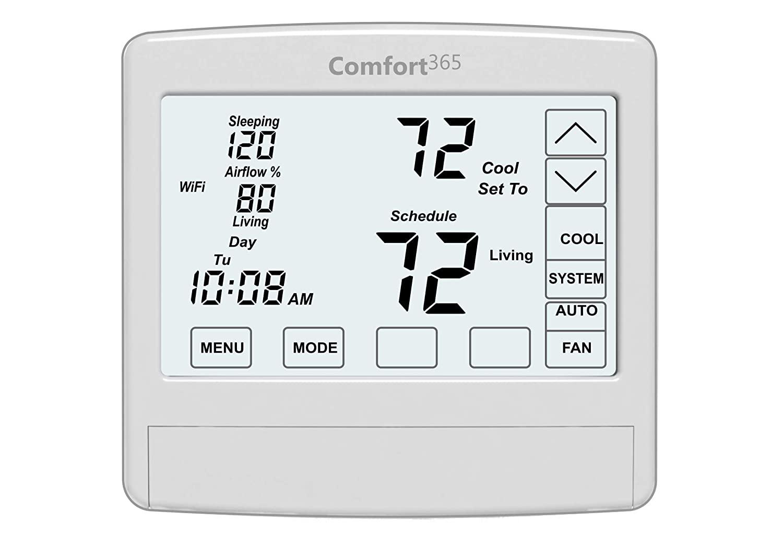 Comfort365 WiFi Thermostat Upgrade. Model C365T21WF.