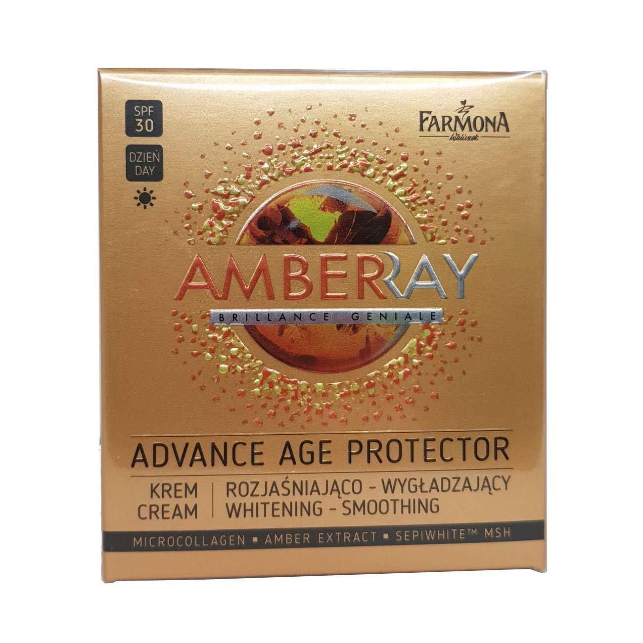 Farmona Amberray Advance Age Protector SPF30 Whitening-Smoothing Day Cream 50ml