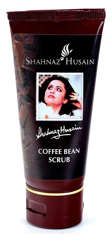 Shahnaz Husain Coffee Bean Herbal Ayurveda Facial Scrub for All Skin Types (50 grams)