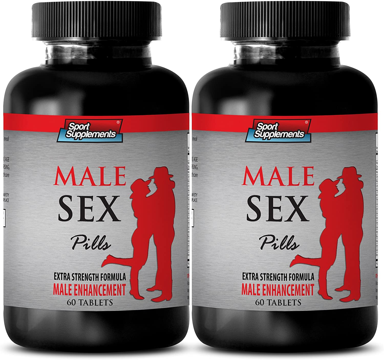libido for Men Sexual Pill - Male Sex Pills - Extra Strength Formula - Male Enhancement - maca Harmony - 2 Bottles (120 Tablets)