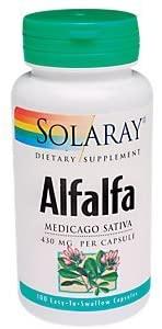 Alfalfa Medicago Sativa 430 MG (100 Capsules)
