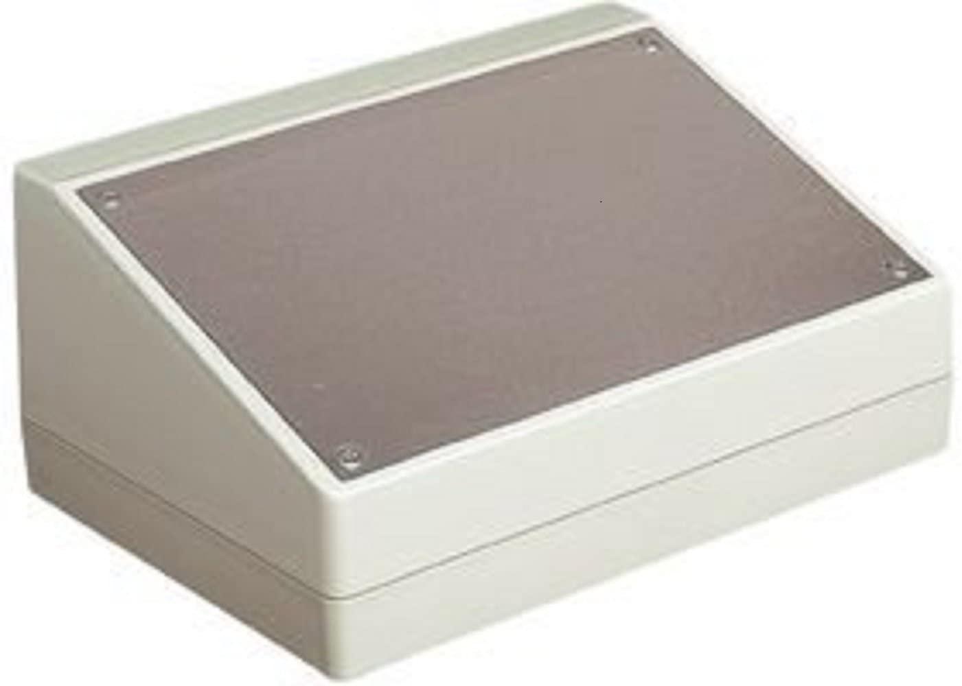 BUD Industries PC-11491 Plastic Style F Box, 8-11/16