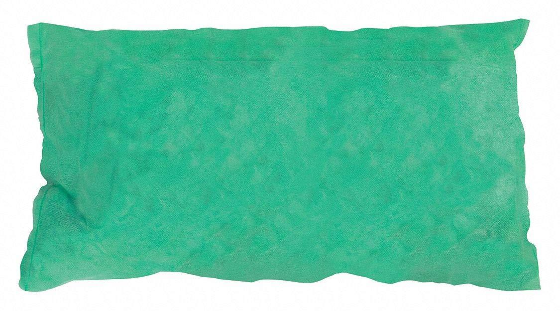 Condor Absorbent Pillow, Green, 8 gal, PK5