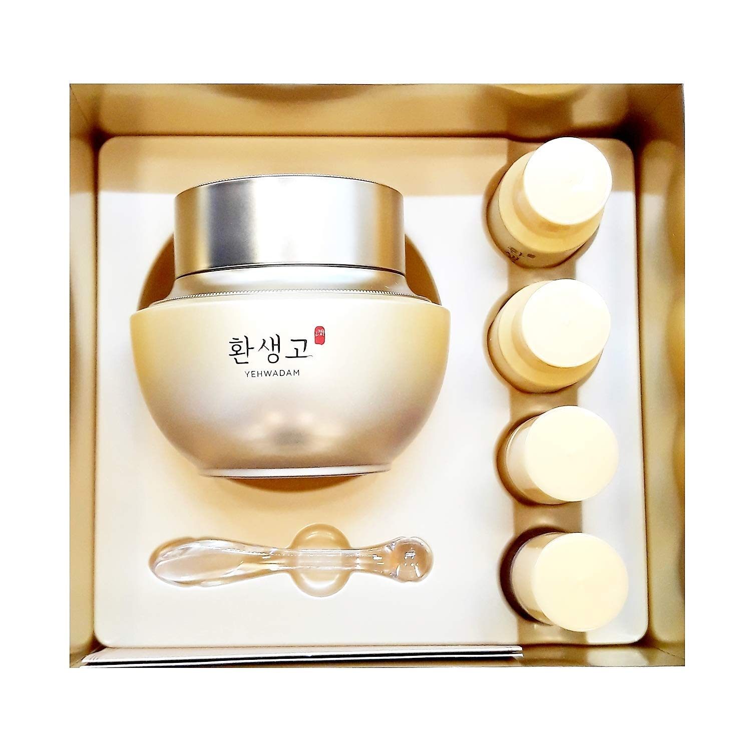 Yehwadam Hwansaenggo HWAYOON CREAM SPECIAL SET Bonus Miniature Toner Emulsion Serum BB Cream …