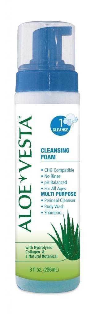 Aloe Vesta Cleansing Foam, 8 Oz. Bottle, Pack of 2