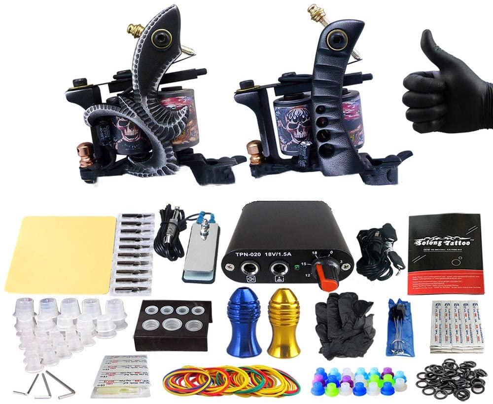 Tattoo Machine Kit Professional Tattoo Machine Kit Tattoo Machine Integrated Machine Coil Machine Tattoo Artist