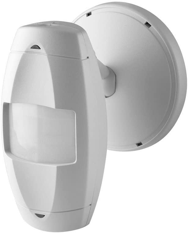 Leviton OSWWV-I0W Wall Mount Occupancy Sensor, PIR Wide View, 110 Degree, 2500 sq. ft. Coverage, Self-Adjusting, White