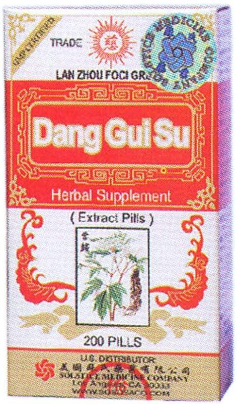 Dang Gui Su (200 Pills) 16oz (Pack of 3)