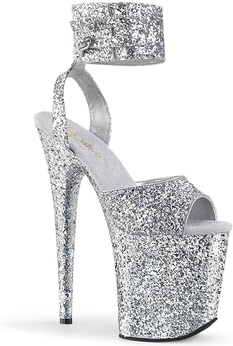 Pleaser Womens Flamingo-891LG Ankle-Strap Sandal