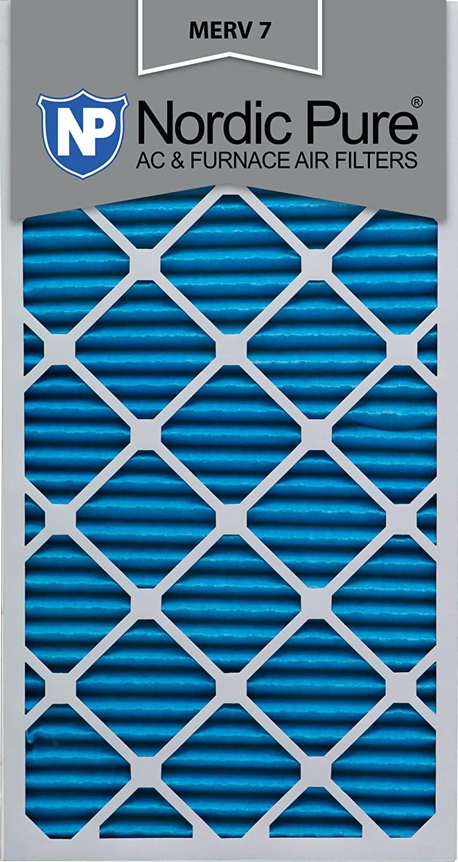 12x24x2 MERV 7 AC Furnace Filter Qty 12