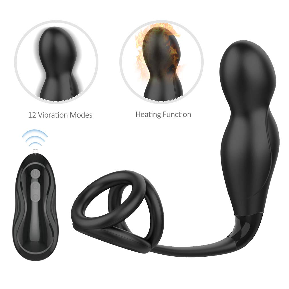 Vibration Remote Control P-énís Train Rooster Rings Lasting Longer Wand Pró-státê Massager Mássage Tools Remote Control Stimulor Powerful Modes Six Toys for Men Couples Sêx