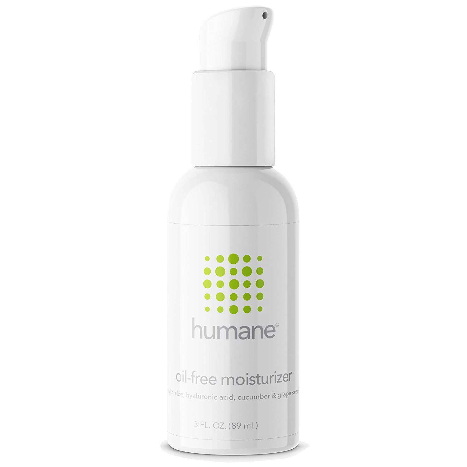 Humane Oil-Free Daily Lightweight Face Moisturizer for Acne-Prone Skin with Soothing Antioxidants, 3 oz