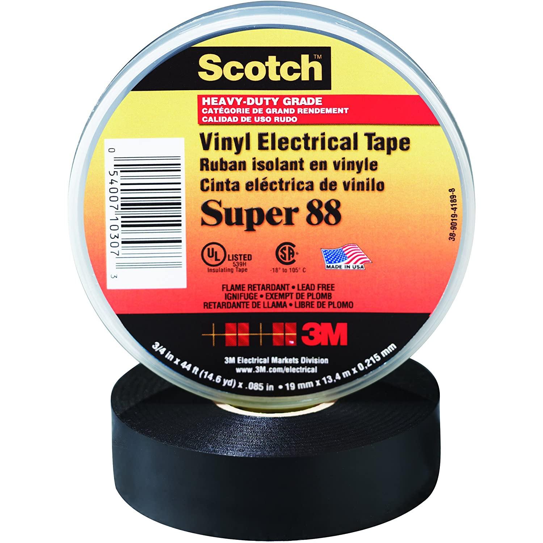 3M Super 88 Electrical Tape, 1 1/2