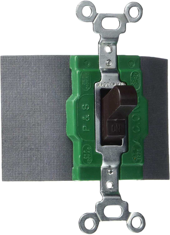 Legrand - Pass & Seymour 1276 Pass & Seymour 1276-Switch Manual Control 30A 120/277V (DPDT)