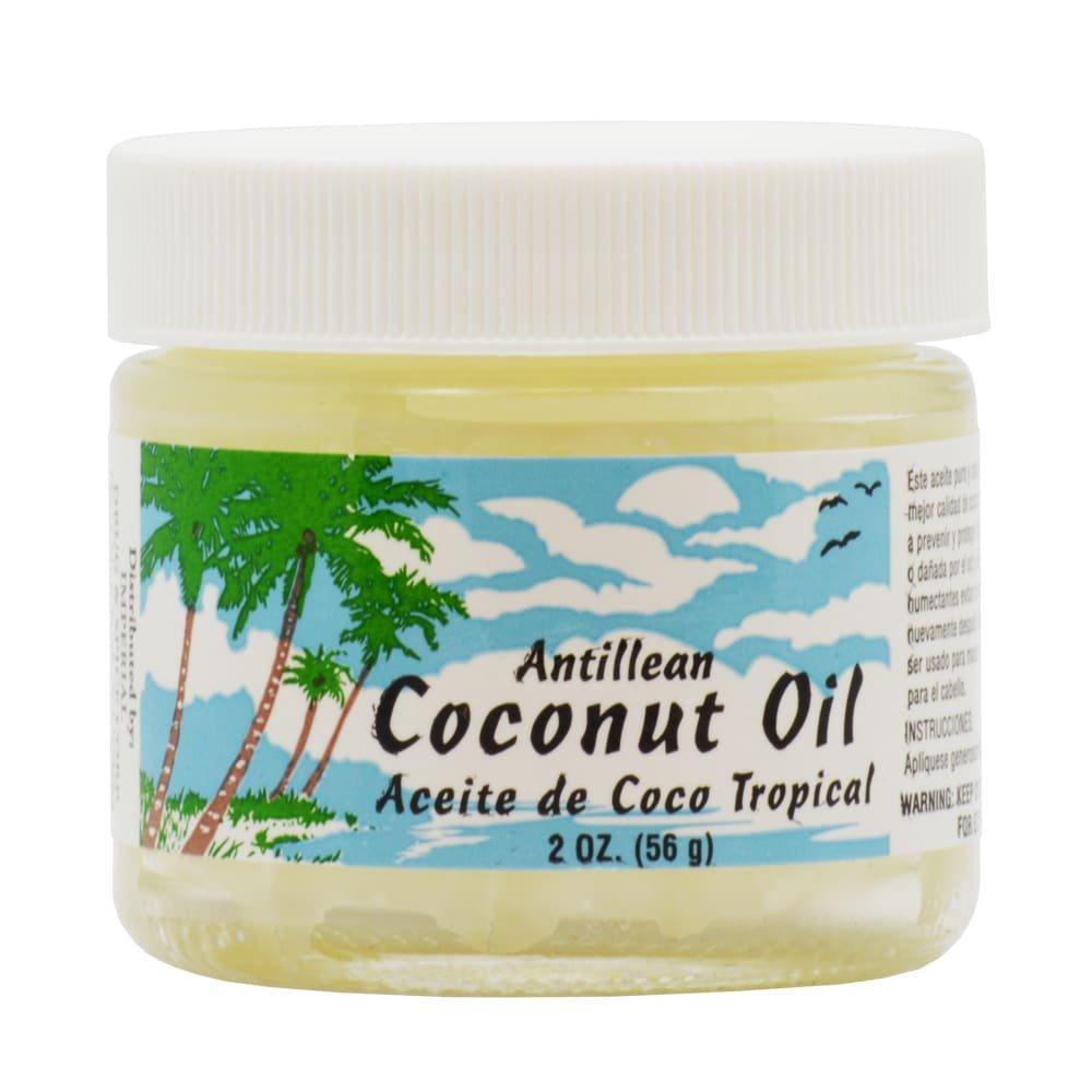 Antillean Coconut Oil 4 oz. Aceite Coco