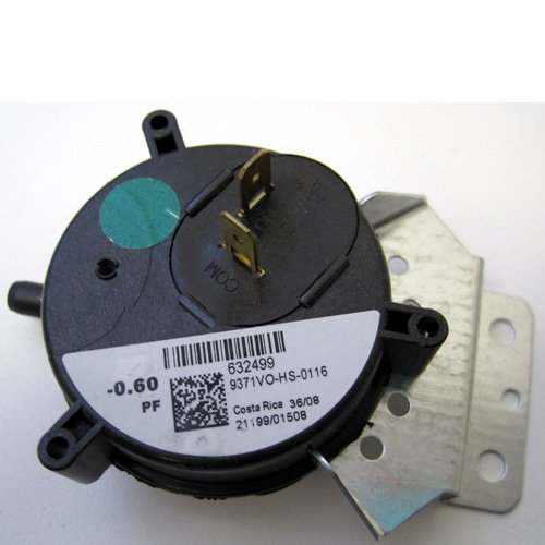 632499 - Nordyne Furnace Vent Air Pressure Switch - OEM Replacement