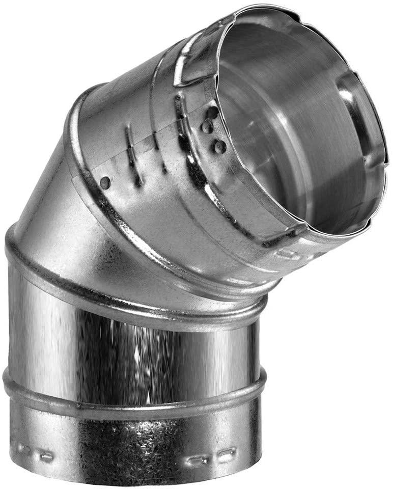 Simpson Duravent Gas Vent Adjustable Elbow 45 Degree 3