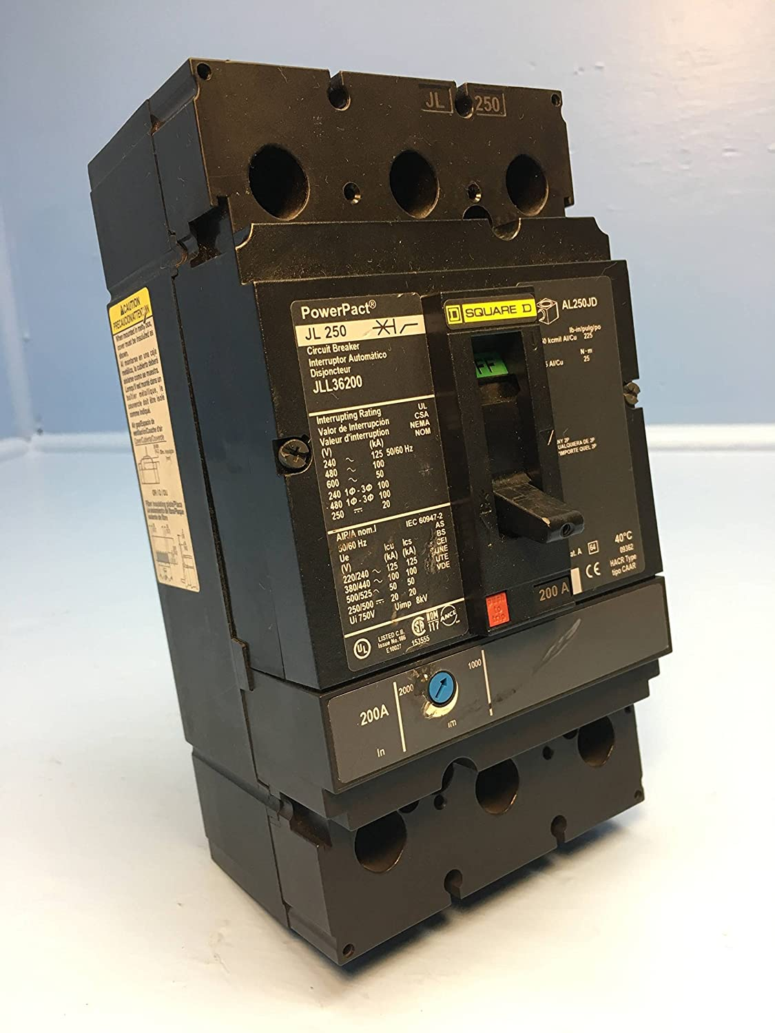 Square D / Schneider Electric JLL36200 (SQD) - Circuit Breaker