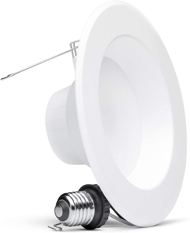 Hyperikon 6 Inch LED Recessed Lighting, 75 Watt Replacement (14W), Retrofit Dimmable Downlight, UL, Energy Star, Warm White