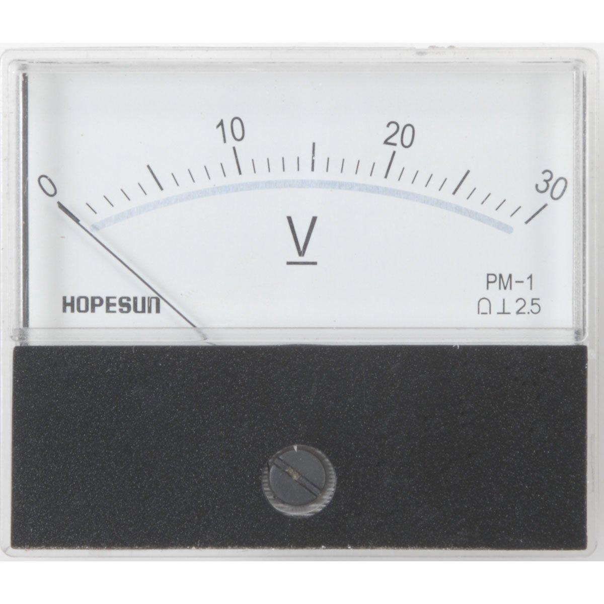 Velleman AVM7030 30 Vdc Panel Meter, 2.8 X 2.4