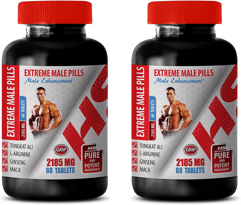 Testosterone Booster Testosterone Booster - Extreme Male Pills - Male Enhancement - tongkat ali Long Jack 120 Capsules - 2 Bottles 120 Tablets