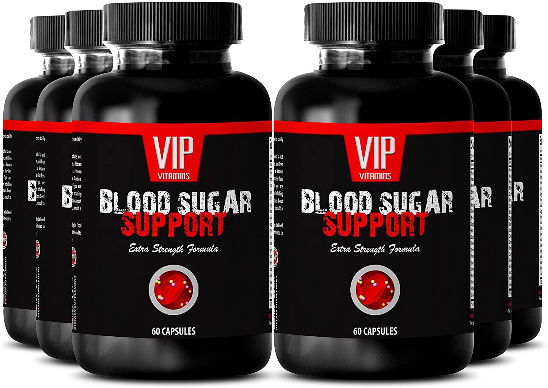 Biotin 300 - Blood Sugar Support - Blood Sugar Test kit (6 Bottles - 360 Capsules)