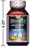 Grapefruit Plus - 355 mg (90 Tablets, ZIN: 406582)