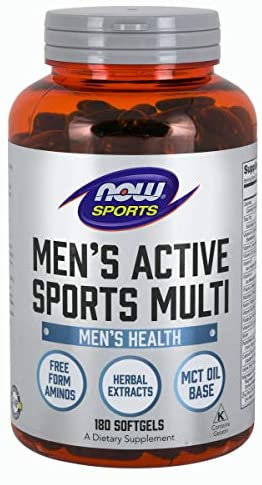 Evaxo Men's Active Sports Multi - 2 pk. / 180 Softgels Free-Form Aminos Herbal Extracts MCT Oil Base This daily multi-vitamin for active men features free-form amino acids, ZMA®, tribulus, MCT oil, he