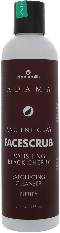 ZION HEALTH Face Scrub,anct,Blck Chry, 2.5 Pound