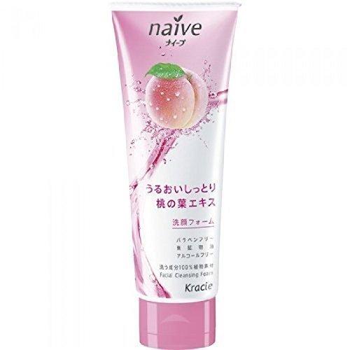 Naive Facial Cleansing Foam Peach 110g