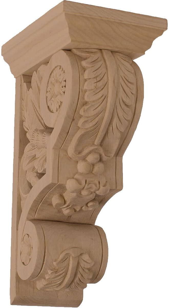 Ekena Millwork COR03X05X09FLCH-CASE-4 Corbel, Factory Primed