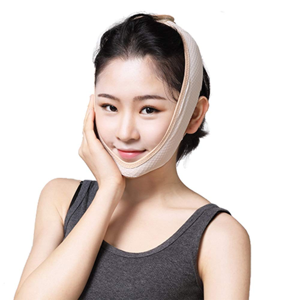 Face Slimming Mask For Women,Face Lifting Slimming V Face Mask, Delicate Facial Thin Face Mask Slimming Bandage Shape Care Skin Strap And Lift Reduce Double Chin Face Mask Face Thining Band Practical